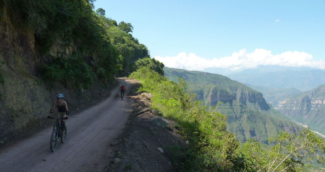 biking in colombia chicamocha