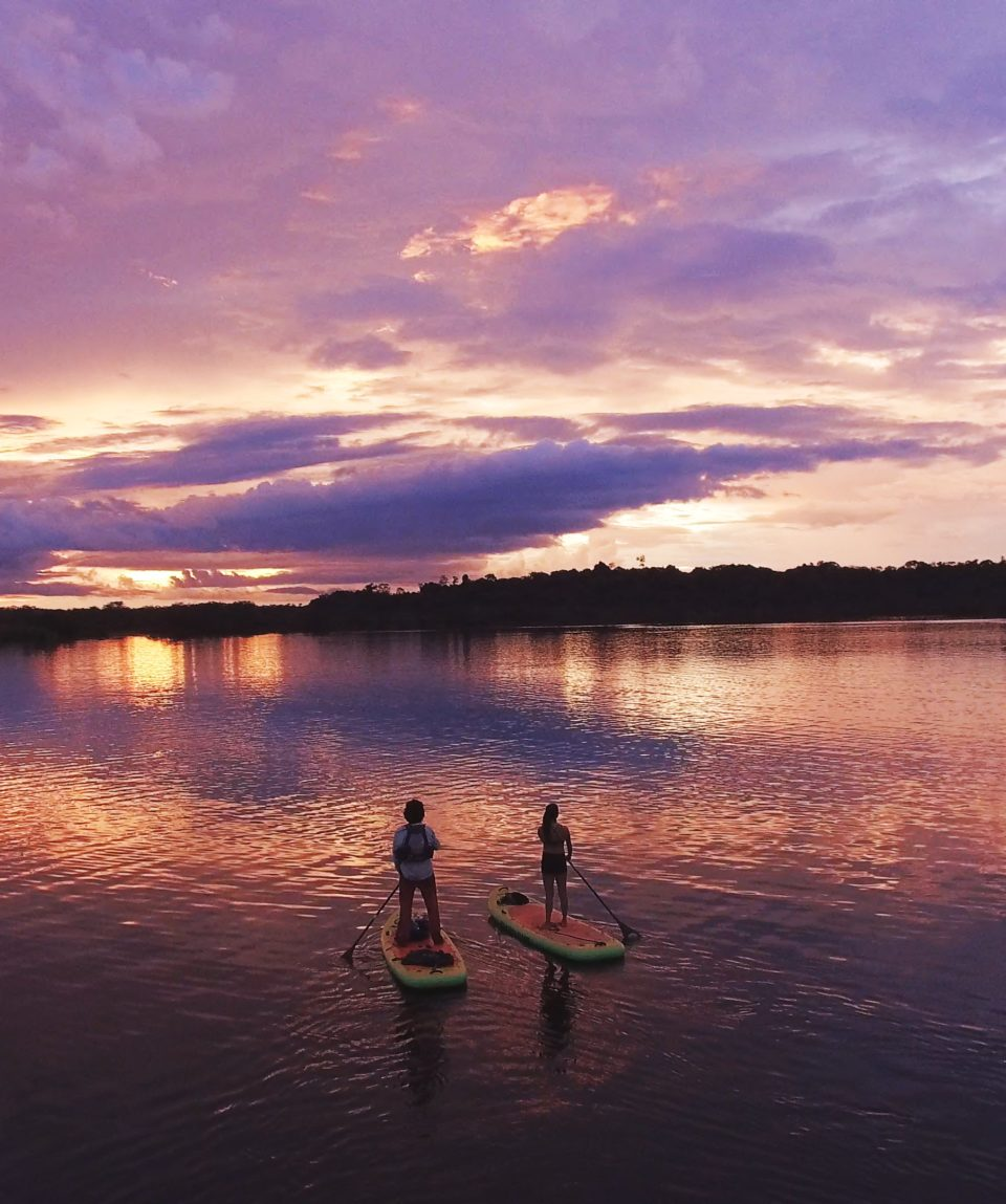 Amazon Stand Up Paddle (SUP) Expedition 4 Days