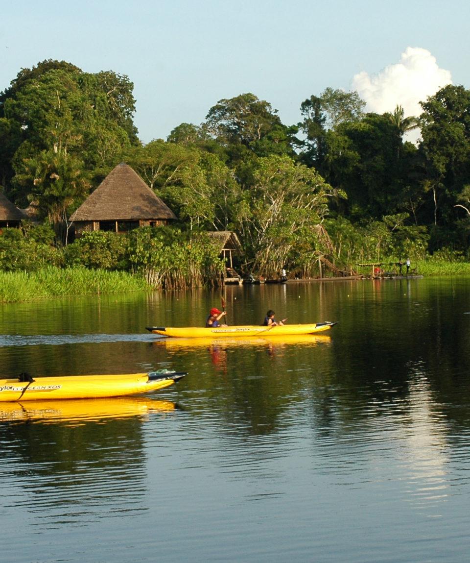 Amazon Wildlife Kayak Exploration 5 Days